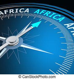 áfrica, palavra, compasso