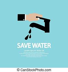 água, conservation.