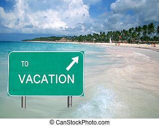 água, férias tropicais, sinal