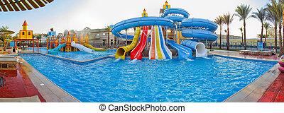 água, sliders, aqua, aquapark, parque