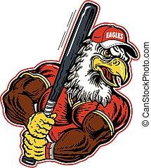 águia, basebol