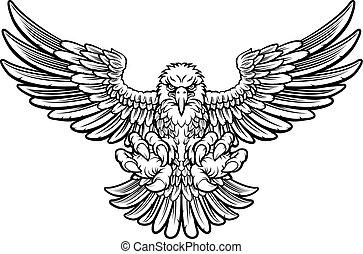 águia, feroz