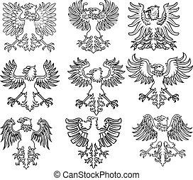águia, heraldic
