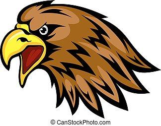 águia, mascote