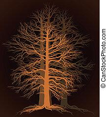 árvore, branchy