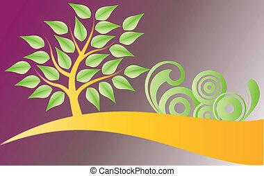 árvore, decorações