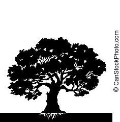 árvore., vetorial