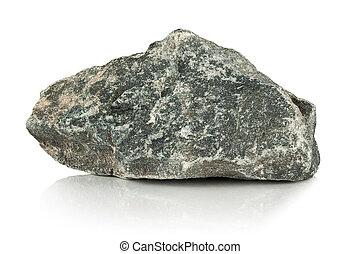 áspero, pedra, cinzento, fragmento
