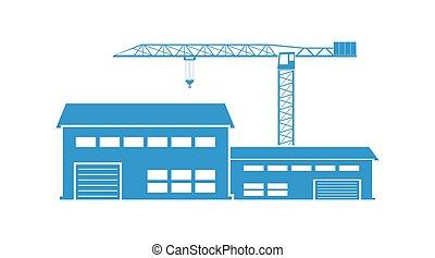 ícone, construção