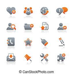 &, ícones, /, blog, grafita, internet