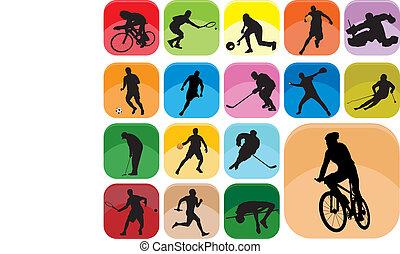 ícones esportes