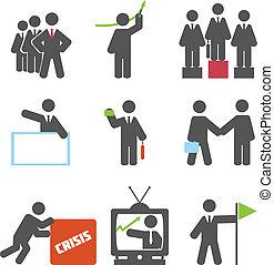 ícones negócio