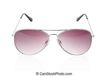 óculos de sol, isolado