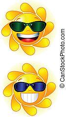 óculos de sol, sol