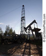 óleo perfura