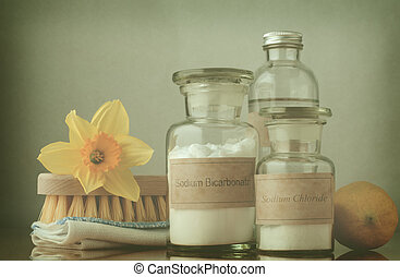 -, limpeza, processado, primavera, crucifixos, natural