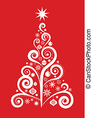 1, árvore, -, natal