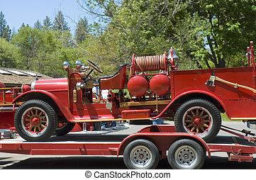 1, caminhão bombeiros, antigas