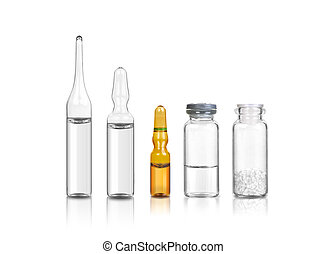 1, médico, jogo, garrafas, ampoules