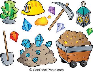 1, mineração, tema, cobrança
