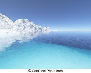 2, gelo, terra