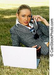 2, negócio, ao ar livre