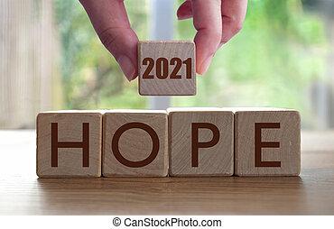 2021, esperança