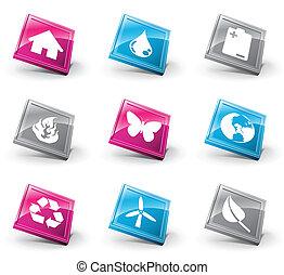 3d, ícones