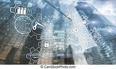 4.0, processo, indústria, inovação, tecnologia, automation., esperto