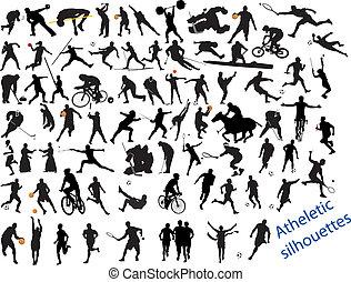 ação, compactado, esportes