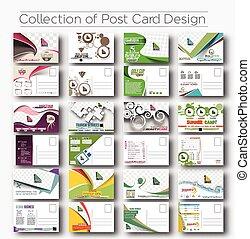 abertura, cartão postal, convite, desenho