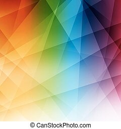 abstratos, arco íris, modernos, experiência., pattern.