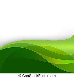 abstratos, experiência verde, natureza