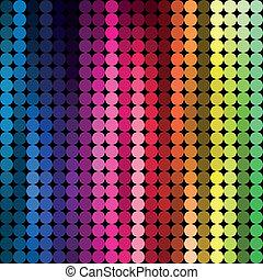 abstratos, fundo, multicolored