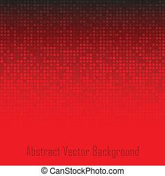 abstratos, tecnologia, experiência vermelha
