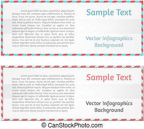abstratos, vetorial, fundo, infographics