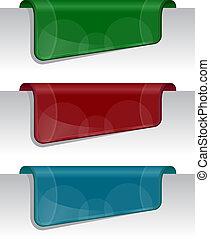 adesivos, borda, (web), página
