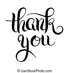 agradecer, letteri, manuscrito, caligrafia, pretas, branca, tu, modernos