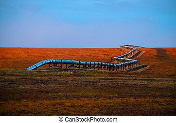 alasca, oleoduto, óleo