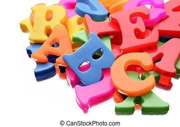 alfabeto, letras
