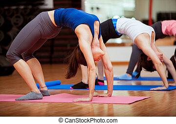 algum, ginásio, ioga