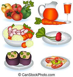 alimento, 1, vegetariano