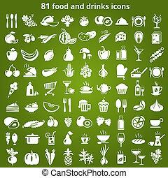 alimento, bebidas