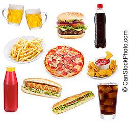 alimento, jogo, produtos, rapidamente
