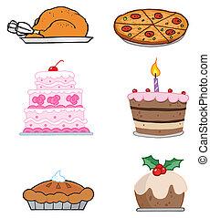 alimentos, feriado