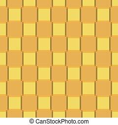 amarela, laranja, experiência., seamless, quadrados