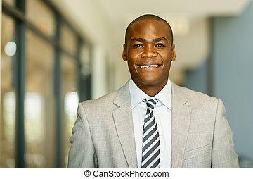 americano, homem novo africano