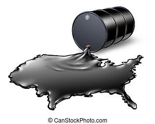 americano, indústria óleo