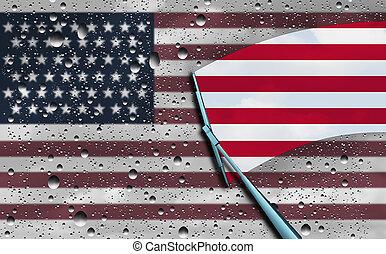 americano, otimismo