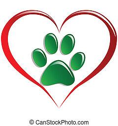 amor, animais